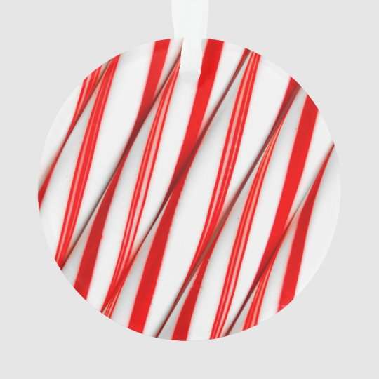 Funky Chrstmas Candy Canes Ornament