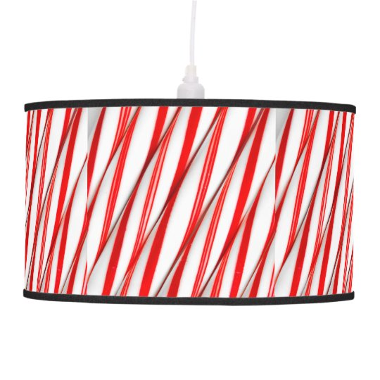 Funky Chrstmas Candy Canes Pendant Lamp