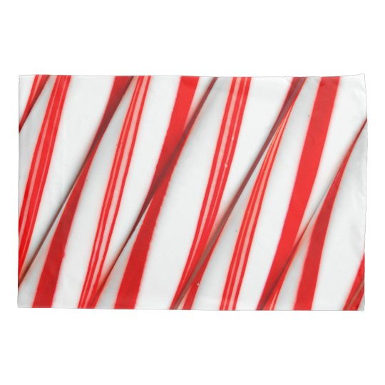 Funky Chrstmas Candy Canes Pillowcase