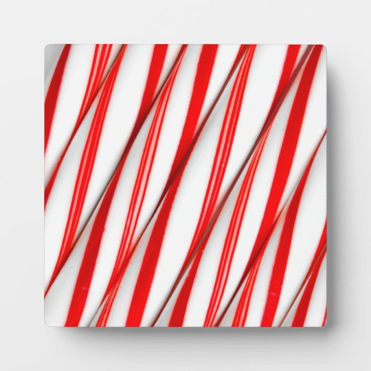 Funky Chrstmas Candy Canes Plaque