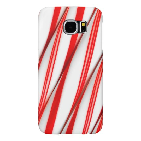 Funky Chrstmas Candy Canes Samsung Galaxy S6 Cases
