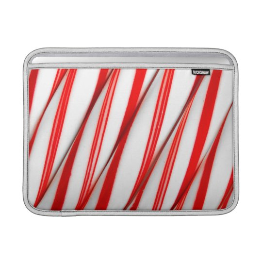 Funky Chrstmas Candy Canes Sleeve For MacBook Air