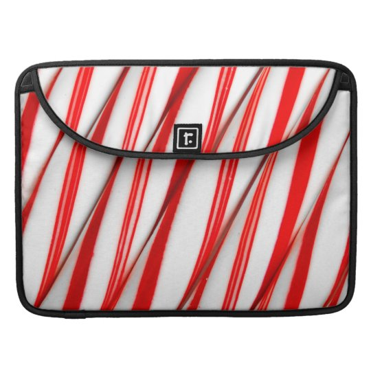 Funky Chrstmas Candy Canes Sleeve For MacBook Pro