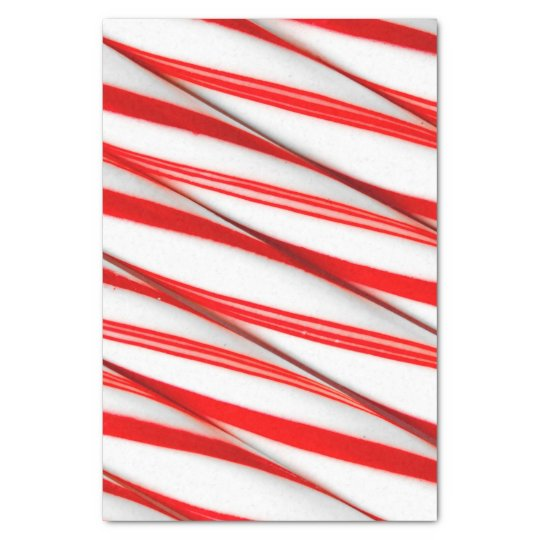 Funky Chrstmas Candy Canes Tissue Paper