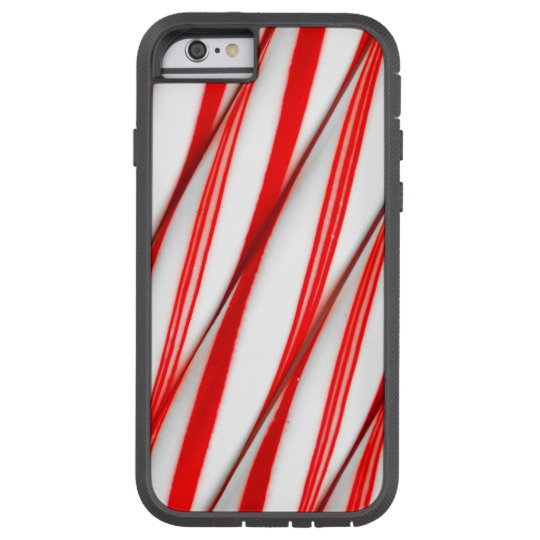 Funky Chrstmas Candy Canes Tough Xtreme iPhone 6 Case