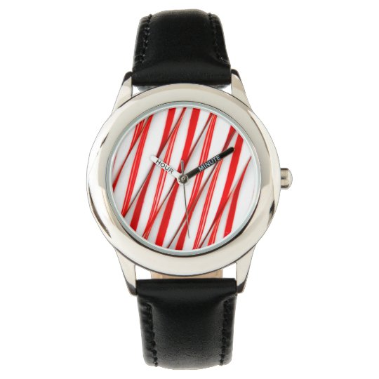 Funky Chrstmas Candy Canes Watch