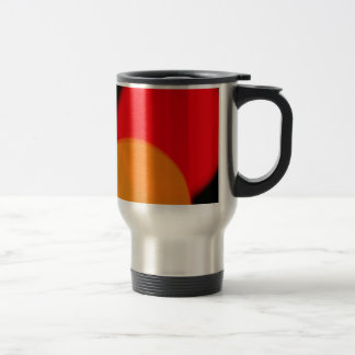 Funky Circles Travel Mug