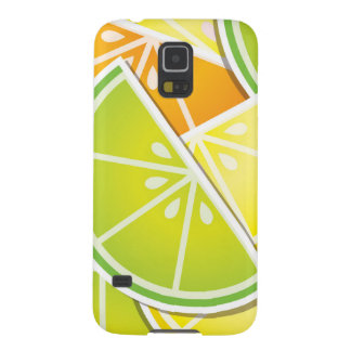 Funky citrus wedges galaxy s5 cover