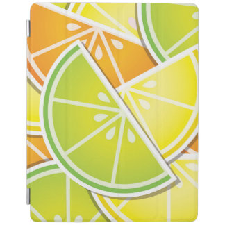 Funky citrus wedges iPad cover