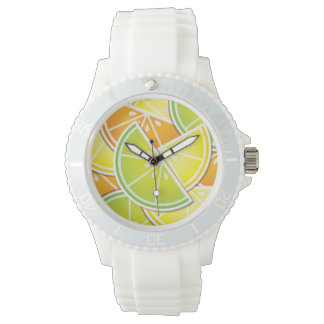 Funky citrus wedges watches
