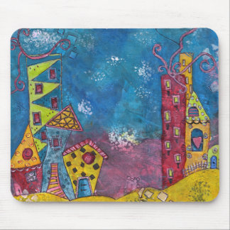 Funky City Mousepad