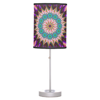 Funky colorful lamp