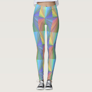 Funky Colorful Leggings