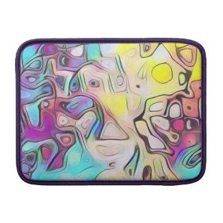Funky colorful MacBook sleeve