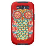 Funky Colourful Owl