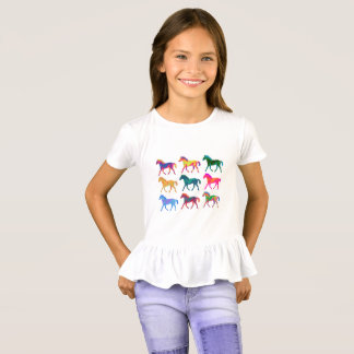 Funky Colts Girls Shirt