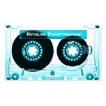 Funky Cool Aqua Mixtape Pack Of Standard Business Cards