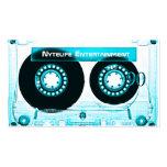 Funky Cool Aqua Mixtape Business Card Templates