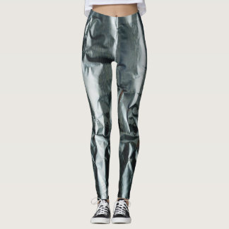 Funky Crumpled Look Leggings