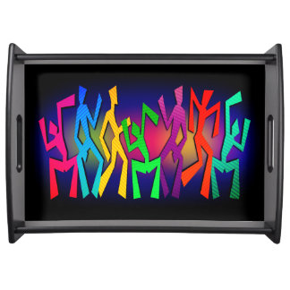 Funky Dancers Serving Tray