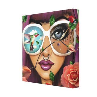 Funky Dreams Canvas Print