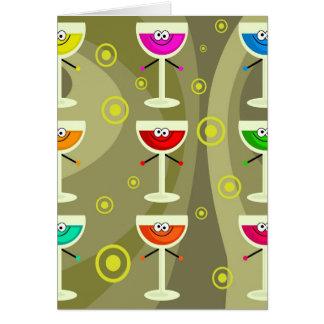 Funky Drinks Card