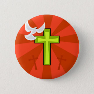 Funky Easter 2 Inch Round Button