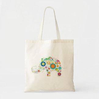 Funky Elephant Tote Bag