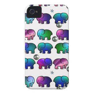 Funky Elephants iPhone 4 Case-Mate Case