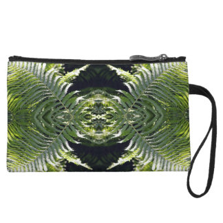 Funky Ferns Wristlet Clutches