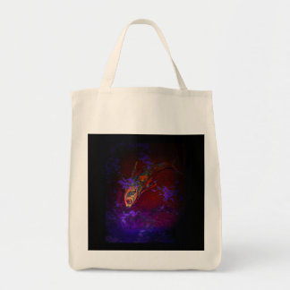 Funky Fish design Tote Bag