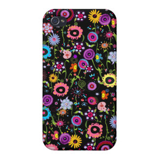 Funky Floral iPhone 4 Cover