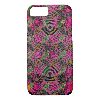 Funky Florescent Zebra iPhone 7 Case