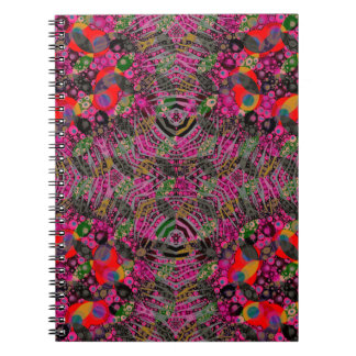 Funky Florescent Zebra Notebook