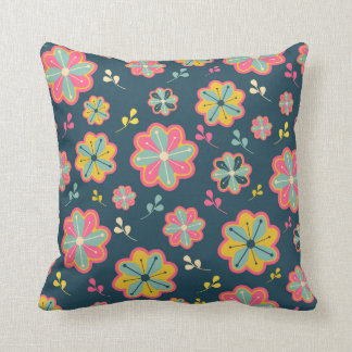 Funky flower pillow