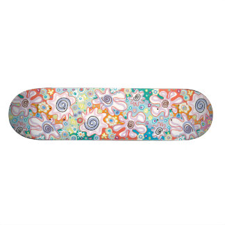 Funky Flowers Skateboard
