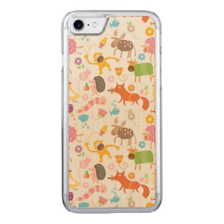 Funky Forest Carved iPhone 8/7 Case