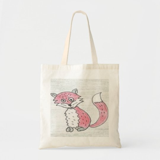 Funky Foxes Pattern Tote Bag