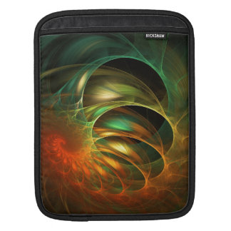 Funky Fractal Design iPad Sleeve
