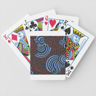 Funky fresh bicycle playing cards