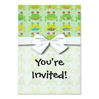 funky froggy frogs card