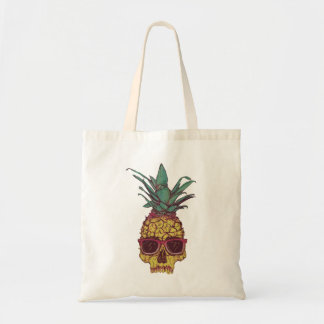 Funky Geek Cool Pineapple Punk Tote Bag