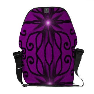 Funky goth messenger bag