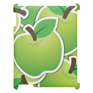 Funky green apples case for the iPad