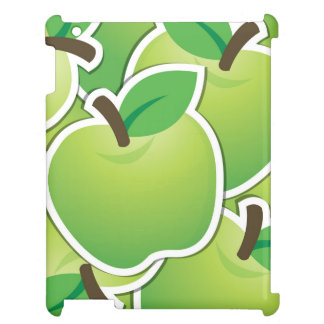 Funky green apples case for the iPad 2 3 4