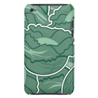 Funky green cabbage barely there iPod covers