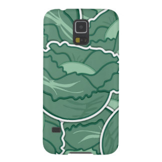 Funky green cabbage case for galaxy s5