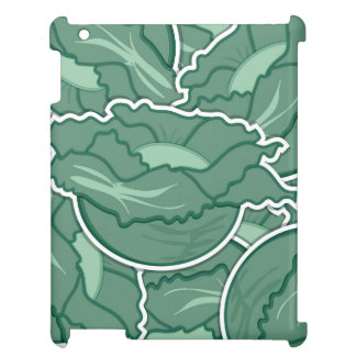 Funky green cabbage iPad covers