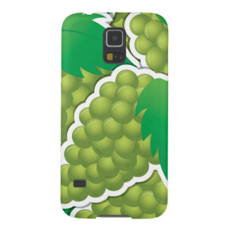 Funky green grapes case for galaxy s5