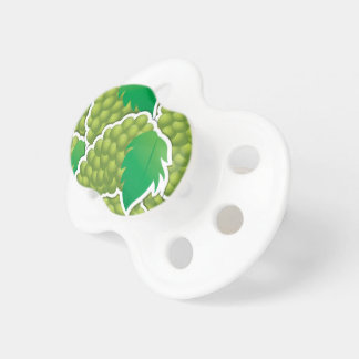 Funky green grapes pacifier